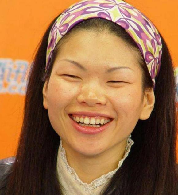 Lữ Yến, lu yen, siêu mẫu xấu nhất trung quốc, người mẫu lạ