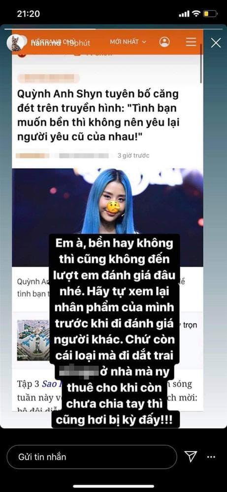 ca sĩ Chi Pu, hotgirl Quỳnh Anh Shyn, sao Việt