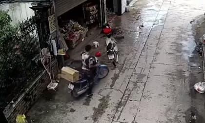 trộm cắp, trộm xe máy, hàng tạp hóa