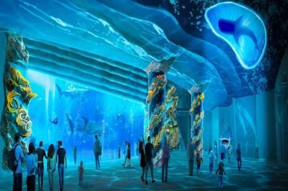 Người mê du lịch hóng Thuỷ cung Kim Quy siêu hoành tráng sắp xuất hiện ở Phú Quốc