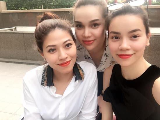 BTV Ngọc Trinh, Hồ Ngọc Hà, sao Việt