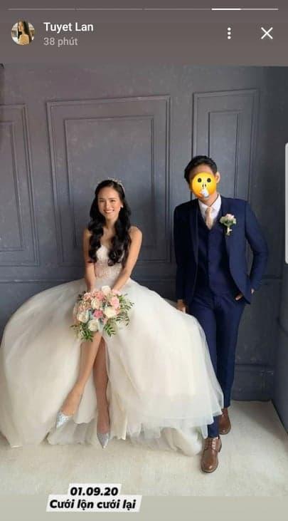 Tuyết Lan, Tuyết Lan lấy chồng hai, sao việt