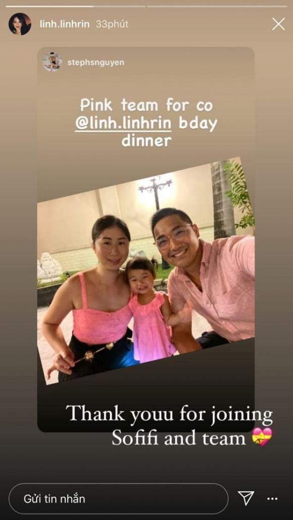 hotgirl Linh Rin, doanh nhân Phillip Nguyễn, sao Việt