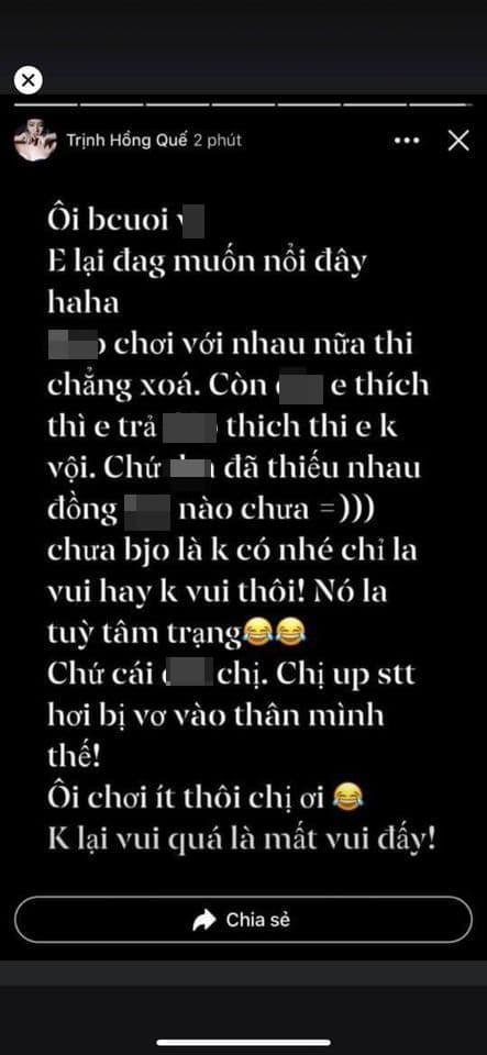 Hồng Quế, Hương Trần, vợ cũ Việt Anh
