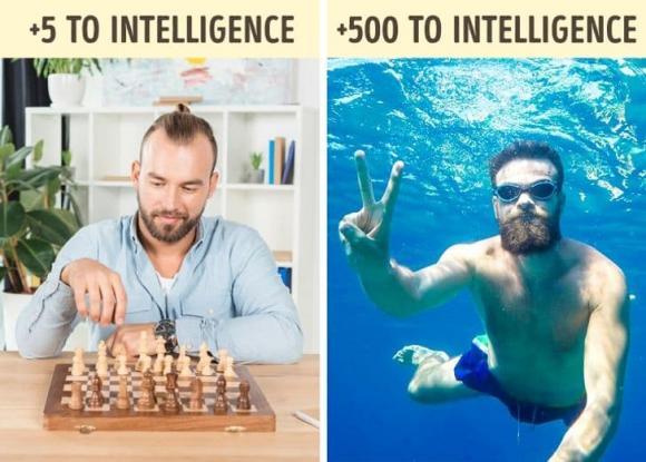 tăng cường trí não, tăng cường trí nhớ, kiến thức