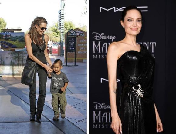 Angelina Jolie, ảnh cũ Angelina Jolie, sao ngoại
