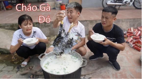 bà tân vlog, cháo gà nguyên lông, Bắc Giang