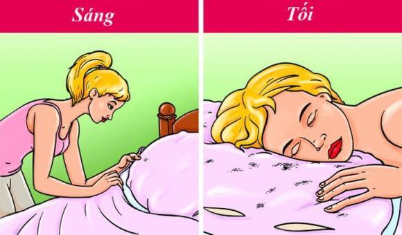 dọn giường, dọn giường sau khi ngủ dậy, kiến thức