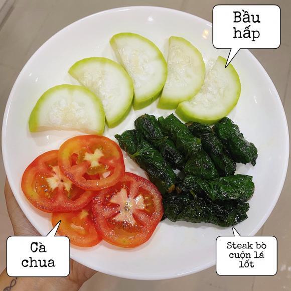 Eat Clean, giảm cân, Vợ Tiến Dũng (The Men)