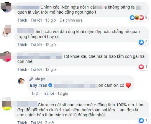 Elly Trần, Elly Trần và chồng, sao việt