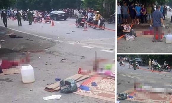 tai nạn giao thông, Phú Thọ, phụ nữ,  Quốc lộ 2