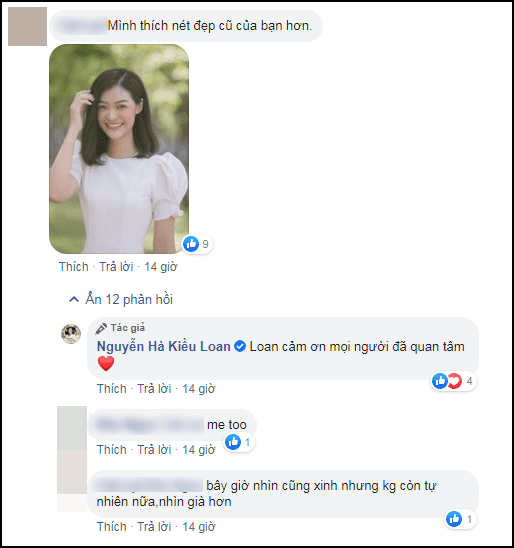 á hậu Kiều Loan, sao Việt