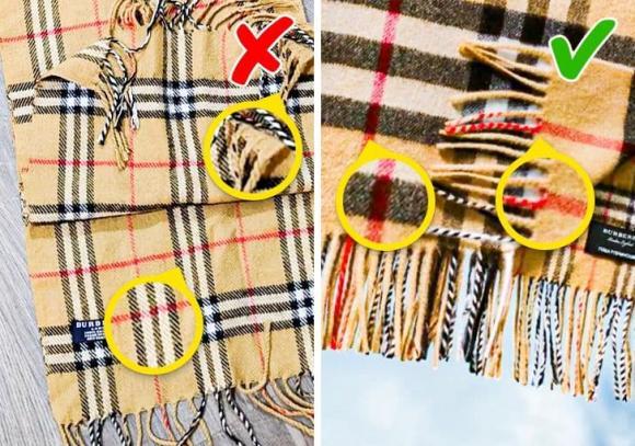 10 cách ít người biết giúp phát hiện quần áo, phụ kiện là đồ giả ngay lập tức