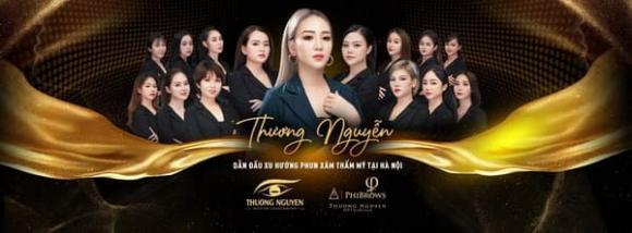 Thương Nguyễn, Phun xăm thẩm mỹ, địa chỉ làm đẹp Hà Nội