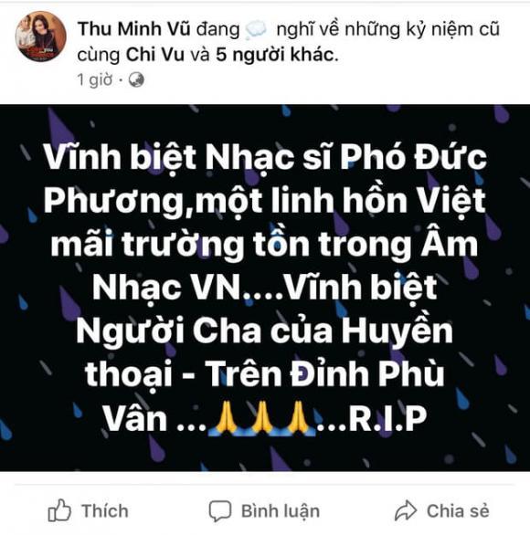ca sĩ Thu Minh, nhạc sĩ Phó Đức Phương, sao Việt