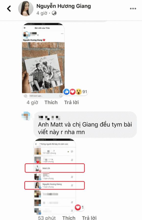 hoa hậu Hương Giang, doanh nhân Matt Liu, sao Việt