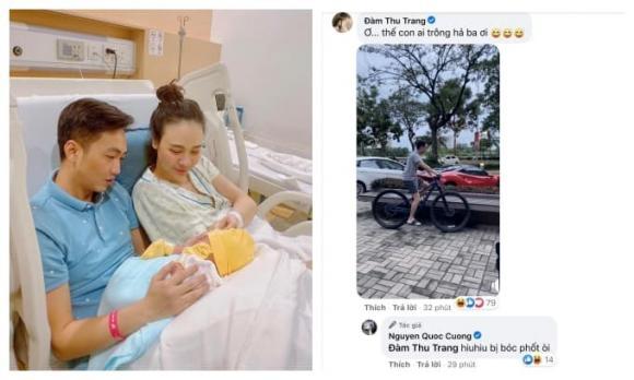 Đàm Thu Trang, Cường Đô La, sao Việt, con gái đàm thu trang