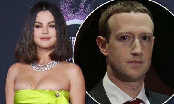 Selena Gomez, Mark Zuckerberg, sao Hollywood