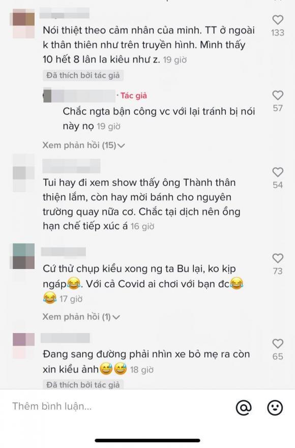 danh hài Trấn Thành, sao Việt