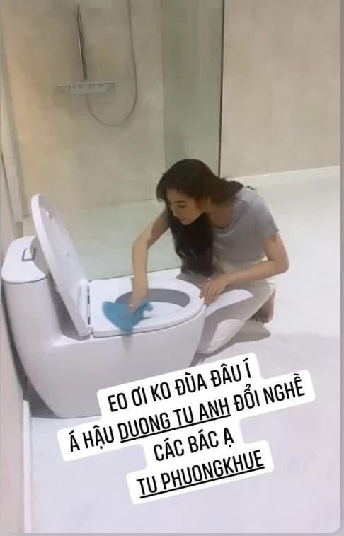 á hậu Tú Anh, mẹ tú anh, sao Việt