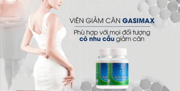 Giảm cân, viên uống thảo dược, Giảm cân Gasimax