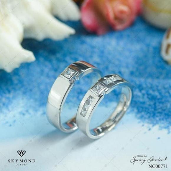 Nhẫn cưới, Nhẫn cưới Platin, Skymond Luxury