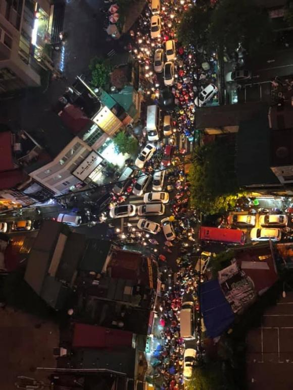 tắc đường, Hà Nội, mưa lớn