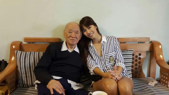 Hà Anh, ông nội Hà Anh, sao Việt