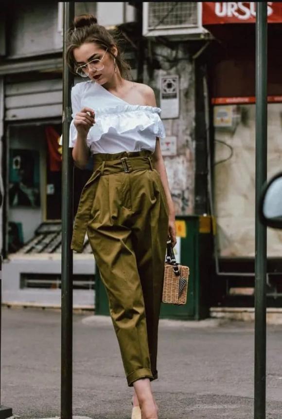 chọn quần, xu hướng quần, quần bud, quần nụ hoa, quần búp
