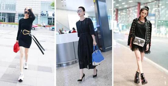 váy đen, thời trang, mẹo kết hợp trang phục