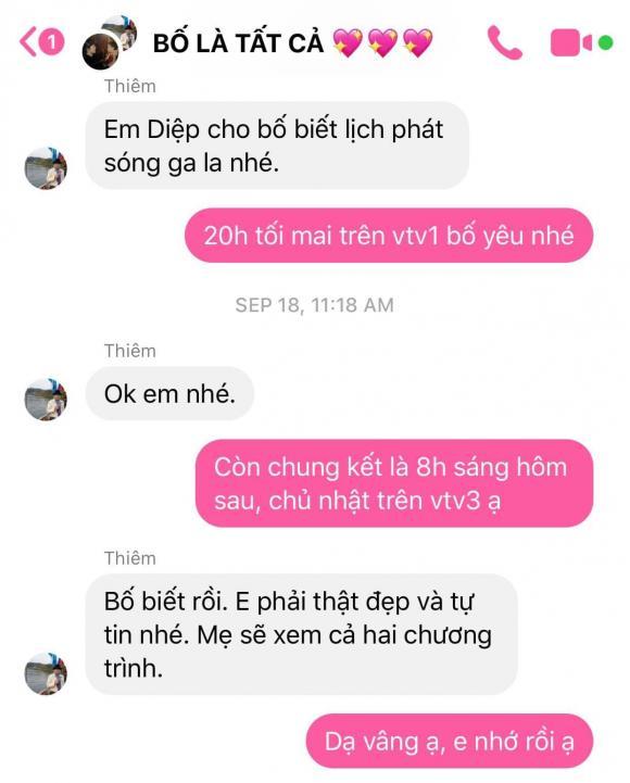 MC Diệp Chi, mẹ MC Diệp Chi, bố MC Diệp Chi, sao Việt
