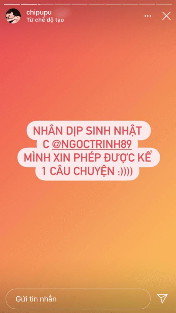 Chi Pu, Ngọc Trinh, sao việt