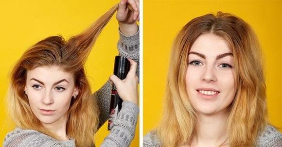 thủ thuật, tóc dày, tóc mỏng, mẹo hay