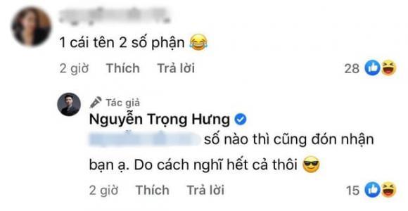 diễn viên Trọng Hưng, ca sĩ Tuấn Hưng, sao Việt
