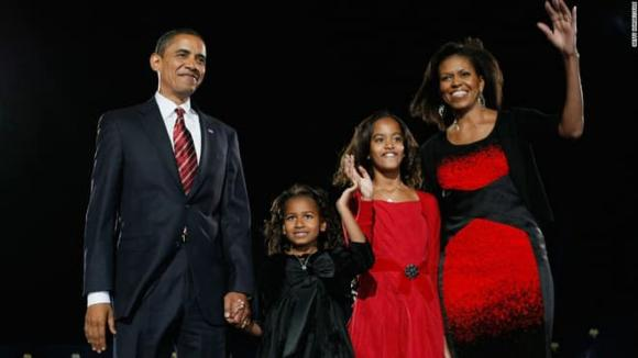 ái nữ nhà Obama, bạn trai ái nữ nhà Obama, Obama
