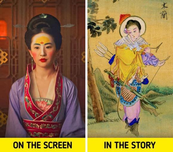 Câu chuyện gốc về Hoa Mộc Lan còn 'dựng tóc gáy' hơn câu trên màn ảnh