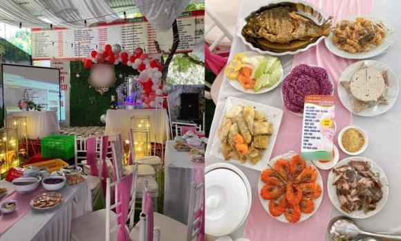 150 mâm cỗ, đám cưới, Điện Biên, bùng cổ cưới