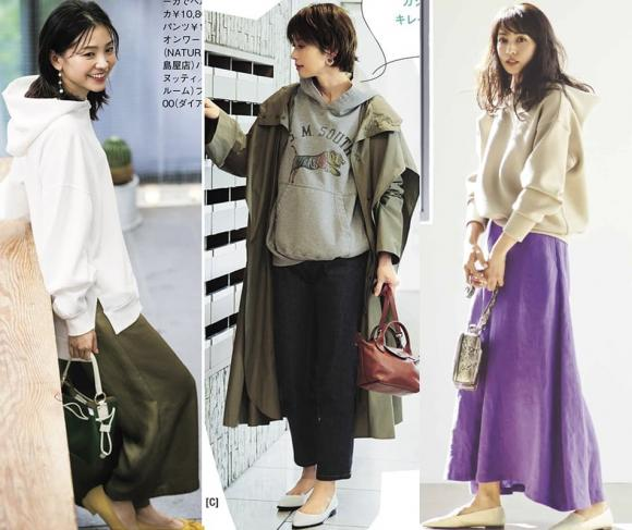 Phụ nữ trưởng thành, đừng mặc quá lỗi thời, hãy học thói quen phối áo len dạ + chân váy, vừa giảm tuổi vừa khí chất