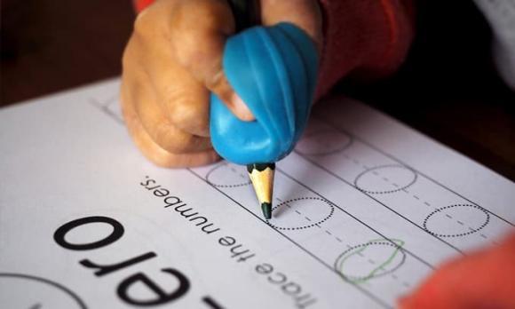 sáng chế mới, công nghệ, viết tay, trẻ học