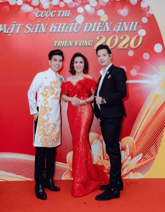 MC Vinh Quang, Ngai vàng Điện ảnh 2020, Gương mặt Sân khấu Điện ảnh triển vọng 2020