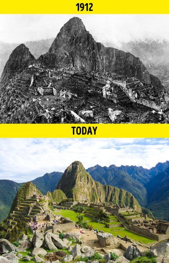 địa điểm trên thế giới, thế giới, thế giới thay đổi 100 năm qua