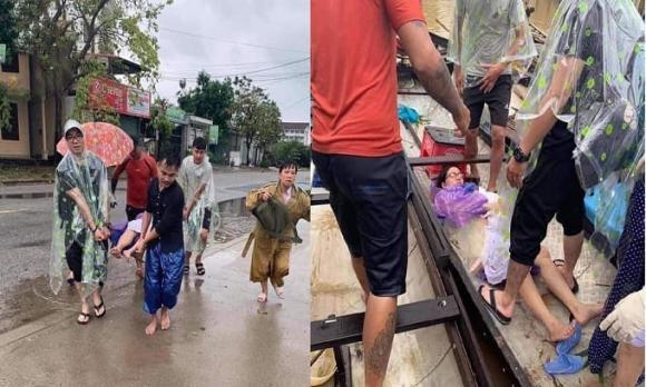 sản phụ, mưa lũ, miền Trung, Huế,