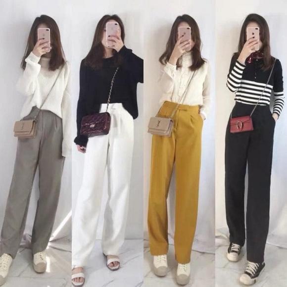 thời trang thu, xu hướng thời trang, chọn quần