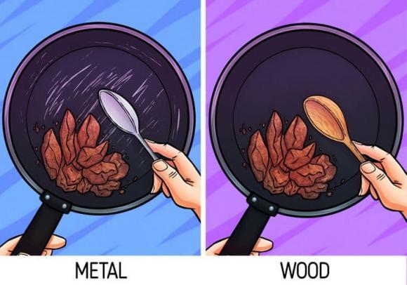 thìa gỗ, sử dụng thìa gỗ, kiến thức