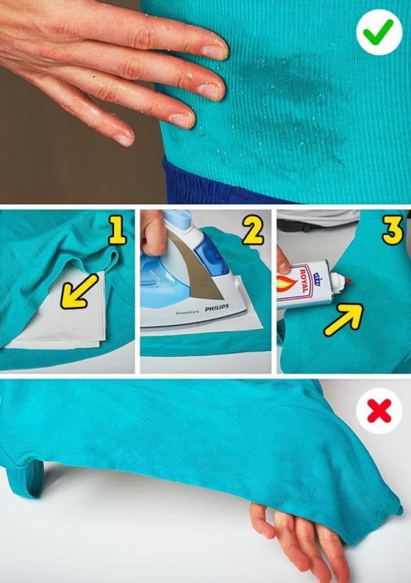 làm sạch quần áo, tẩy vết bẩn cứng đầu trên quần áo, kiến thức