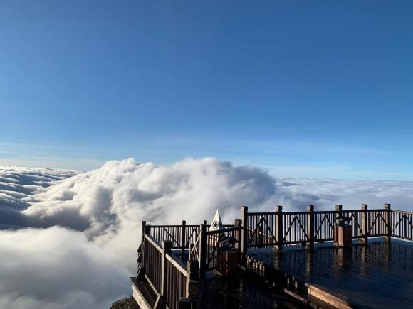 Tháng 10 này, lên Sa Pa ngắm mây như ở chốn 'bồng lai tiên cảnh'