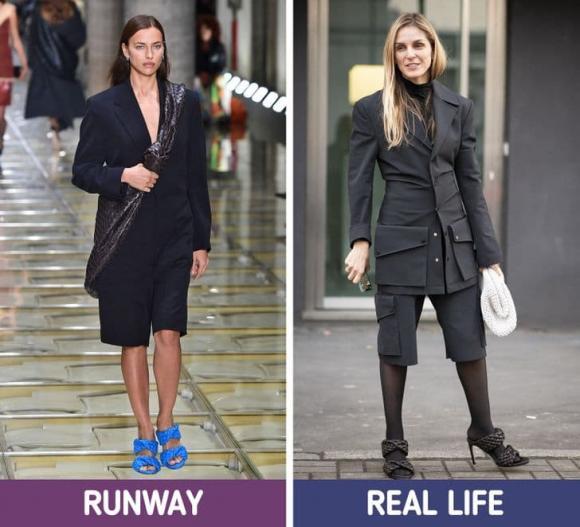 thời trang, sàn diễn, thời trang đời thực