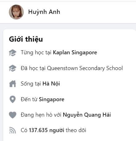 Quang Hải, Huỳnh Anh, bạn gái Quang Hải
