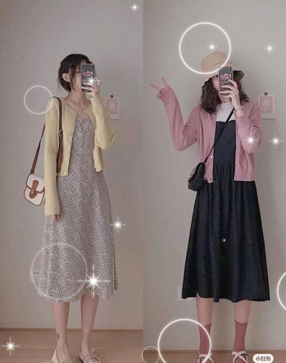 trang phụ mùa thu, áo len, thời trang mùa thu