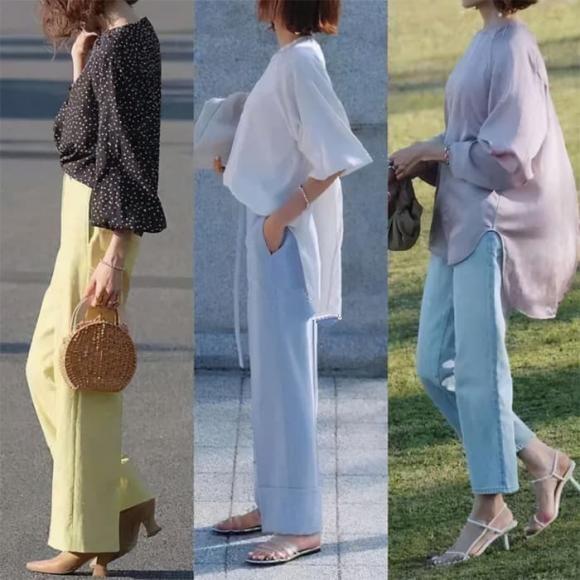 phụ nữ 40, thời trang thu, thời trang trung niên